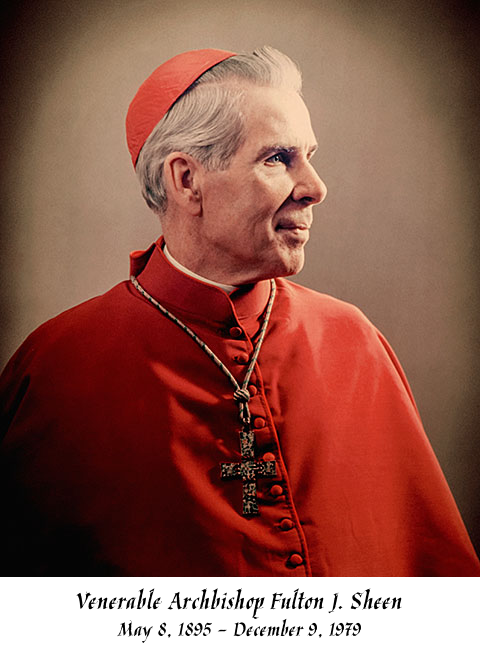 Fulton Sheen Memorial Graphic