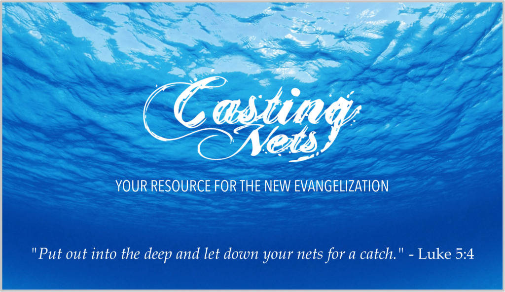 Casting Nets Header Graphic
