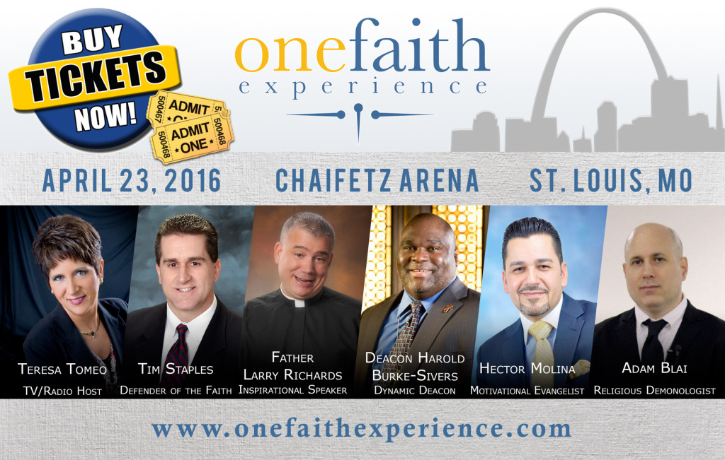 One Faith Experience Graphic